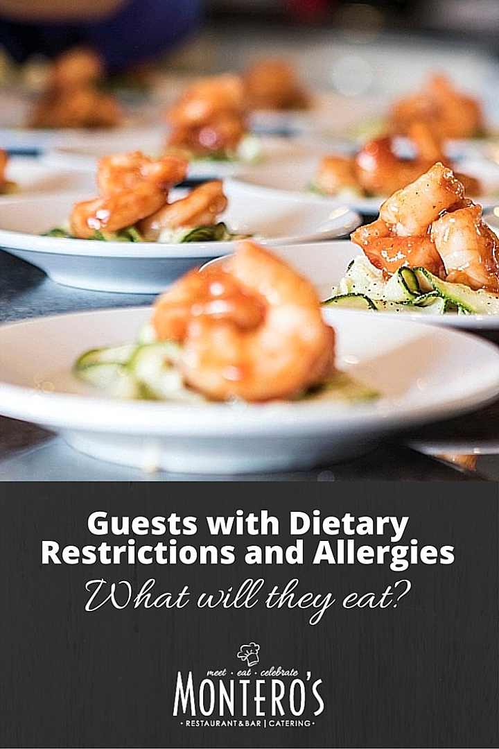 Allergies and Dietary Restrictions at Weddings - What will they eat - How do caterers handle guests with allergies
