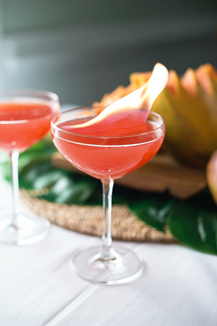 Olympic Party Food Inspiration -  Olympic Torch Cocktail - Rio 2016 (3)