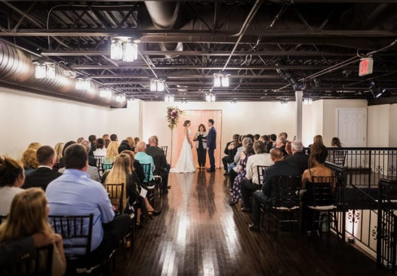 Kenny and Brandy's Historic Post Office Wedding
