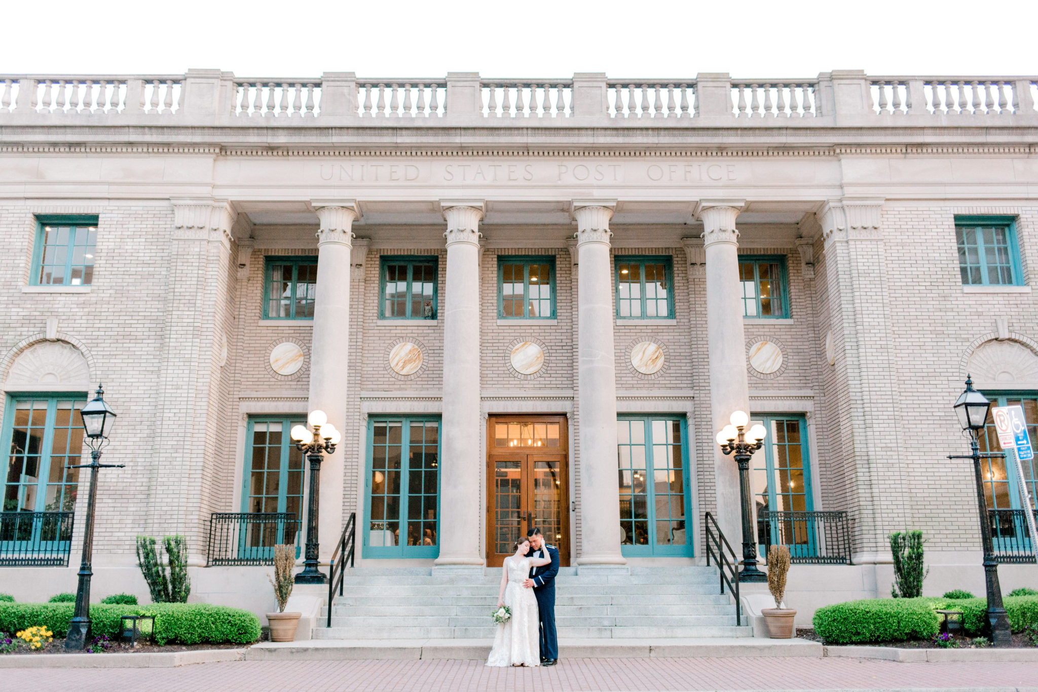 the historic post office, andrew and tianna, hampton caterer, hampton catering, virginia catering, montero's restaurant