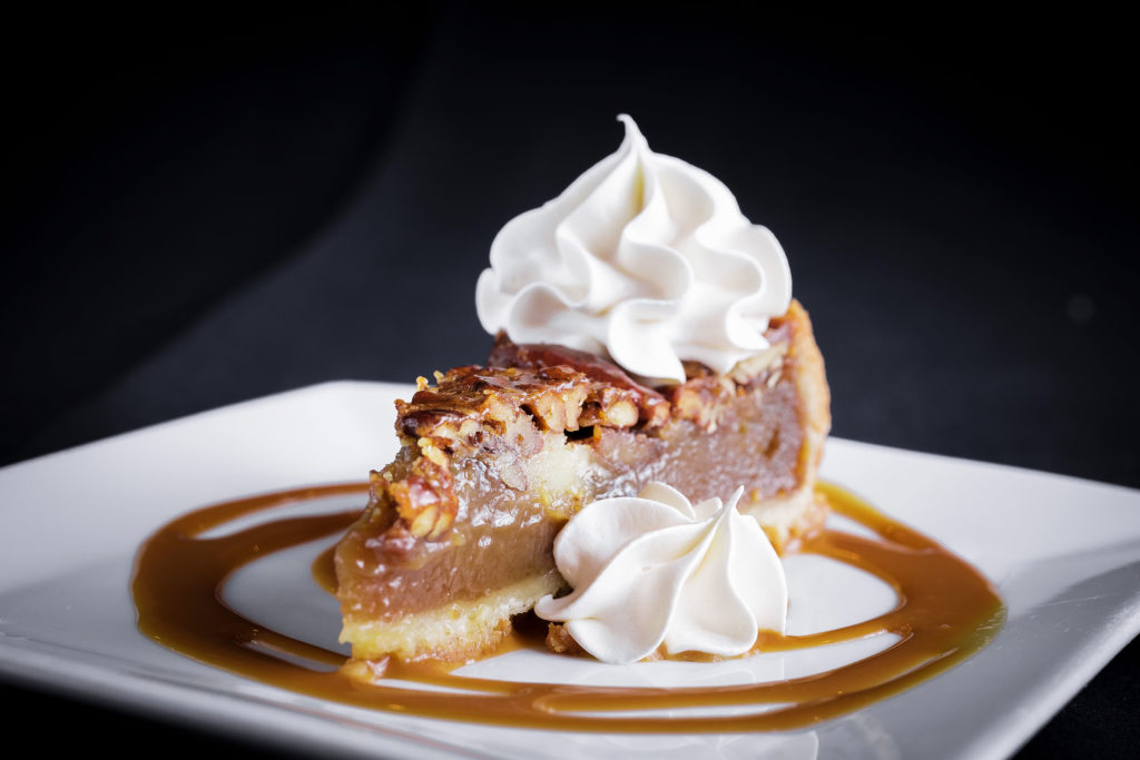 pecan pie in elizabeth city, dessert in elizabeth city, elizabeth city date night, montero's restaurant, dragon studio