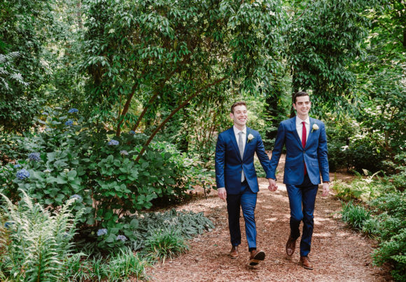 Alex & Ryan's Norfolk Botanical Gardens Wedding